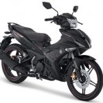 Yamaha MX KING Drift Black warna hitam pertamax7.com