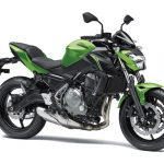 Kawasaki Z650 Candy Lime Green / Metallic Spark Black