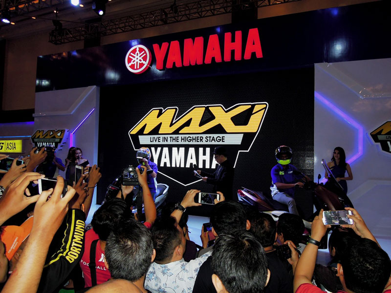 Perkenalkan : MAXI YAMAHA, Live In The Higher Stage