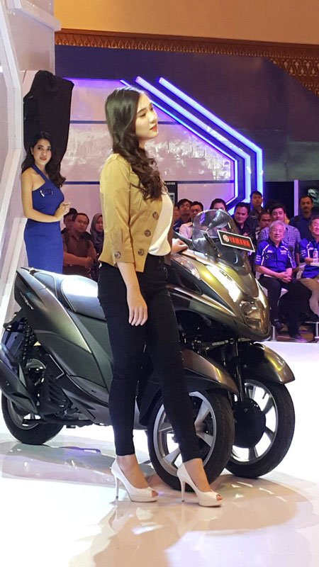 soft launching Yamaha Tricity 155 Indonesia pertamax7.com