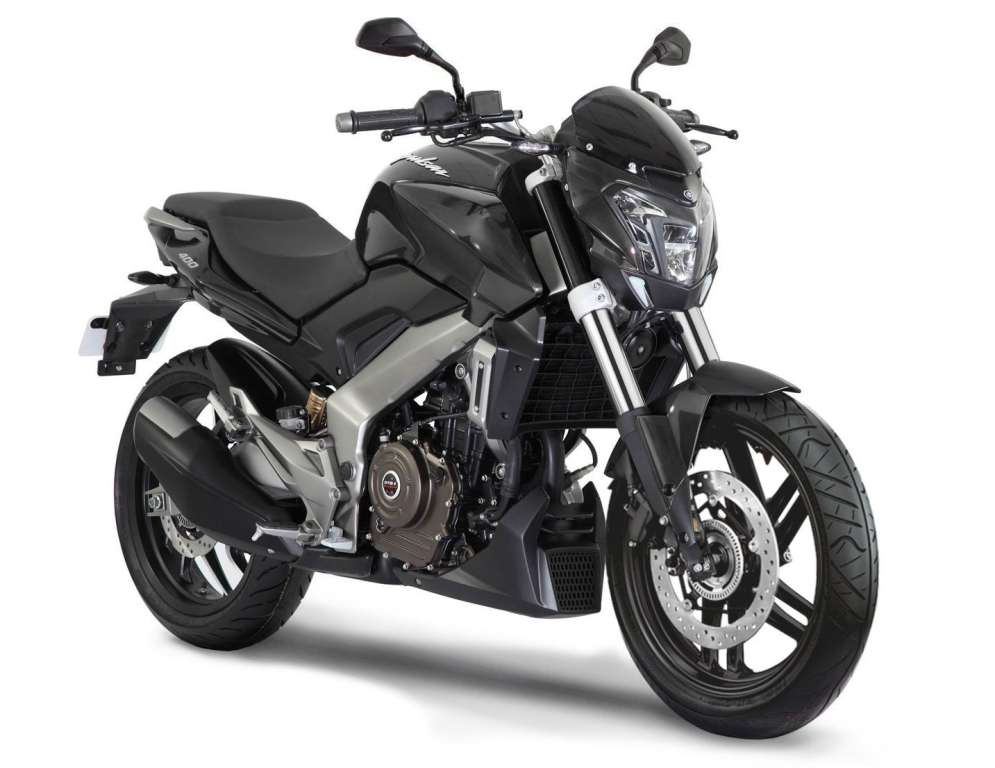 Bajaj Dominar 400 Black