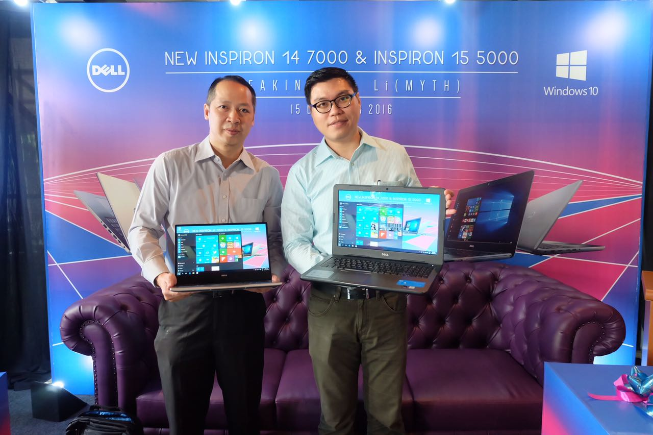 DELL new Inspiron 14 7000 and Inspiron 15 5000 launch