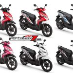 Warna Honda BeAT Fi Filipina