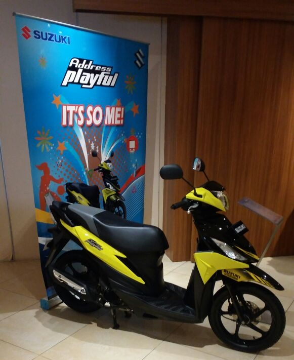 Suzuki Address PlayFul 2