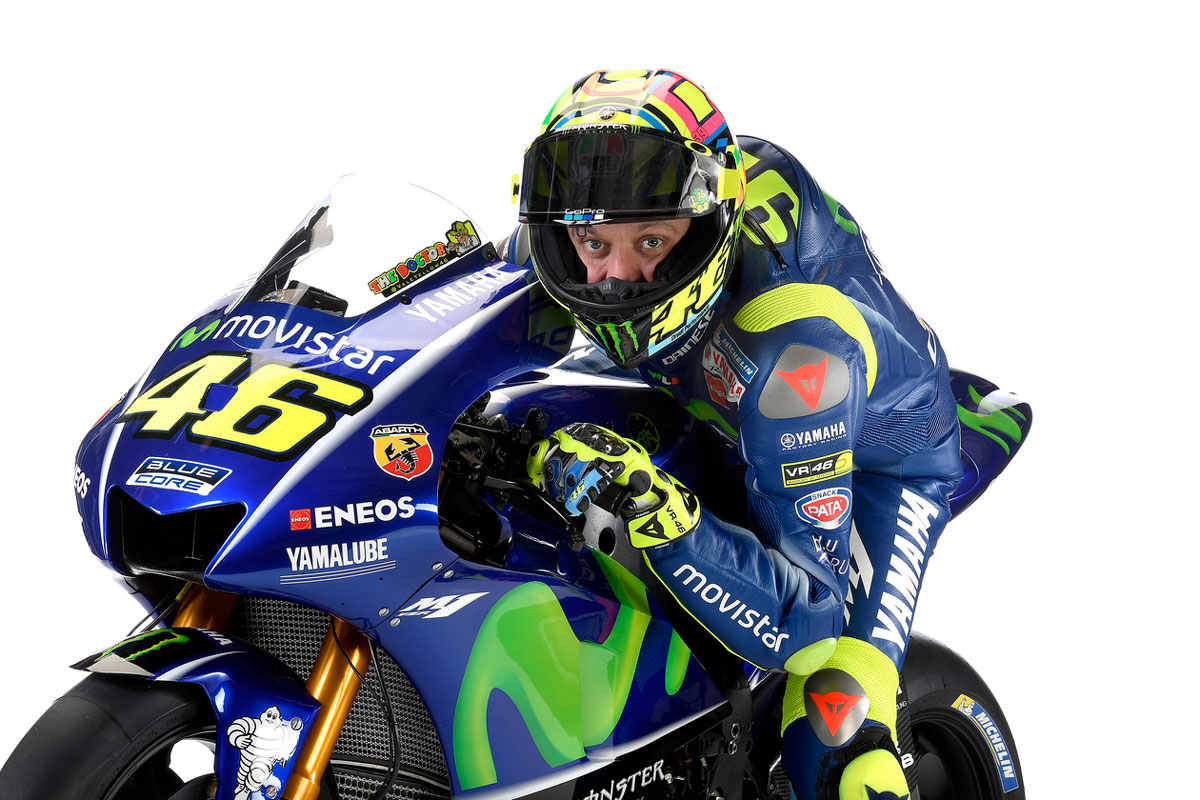 Wallpaper Valentino Rossi Movistar Yamaha MotoGP 2017 15
