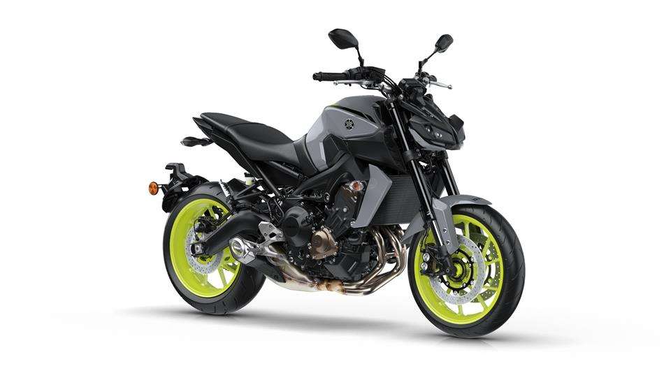 2017 Yamaha MT-09 Warna Night Fluo