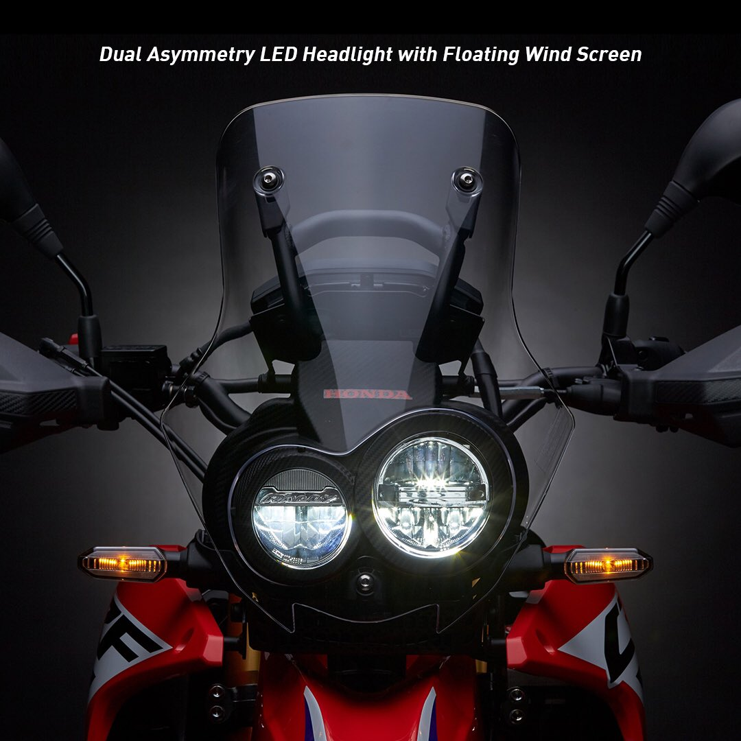 Dual Asymmetry Led Headlight Honda CRF250 Rally