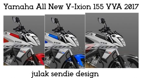 Striping Yamaha All New Vixion 2017