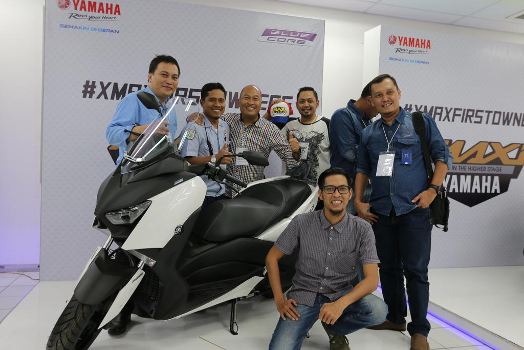 XMAXFIRSTOWNER Factory Visit Yamaha XMAX 20 Indonesia 12