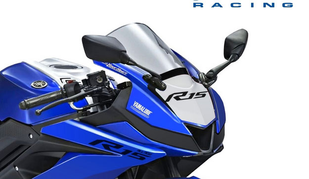 Yamaha All new R15 racing