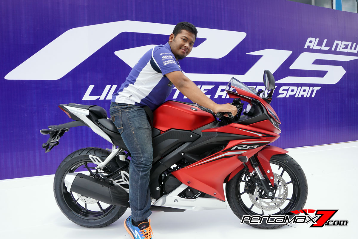 naik Yamaha All New R15 Facelift 2017
