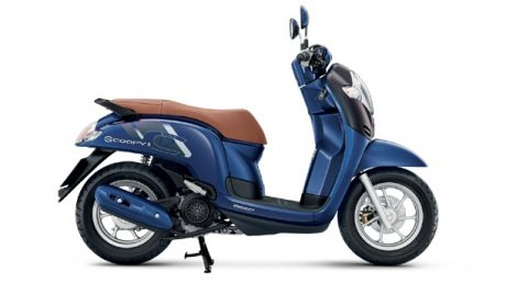 All new Honda Scoopy 2017 velg 12 Inchi Thailand Warna Biru