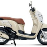 All new Honda Scoopy 2017 velg 12 Inchi Thailand Warna Krem