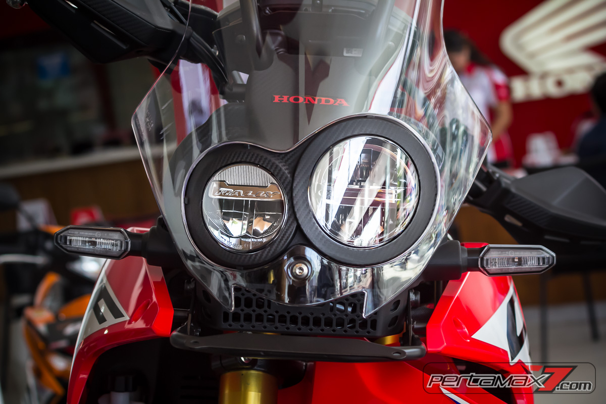 headlamp hona CRF250Rally Asymetry LED