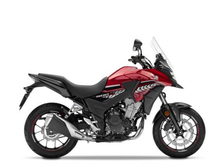 New Honda CB500X Candy Rosy Red