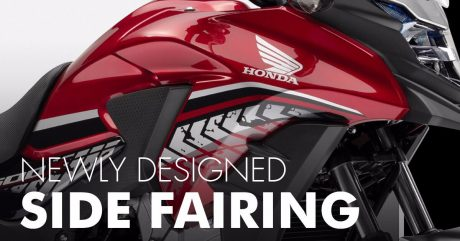 New Side Fairing Honda CB500X