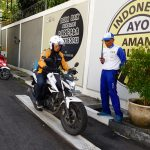 Narrow Plank Pelatihan Safety Riding Honda UBER JOGJA