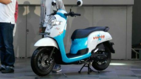 Honda All New Scoopy eSP 110 2017 velg 12 inchi