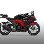 All New Honda CBR150R Warna Hitam Merah Victory Black Red Samping