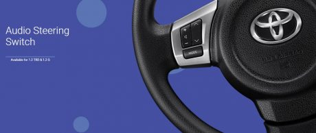 Audio Steering Switch All New Toyota Agya 2017 TRD