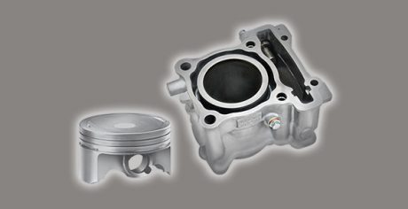 FORGED PISTON & DIASIL CYLINDER Yamaha All new Vixion 150 cc