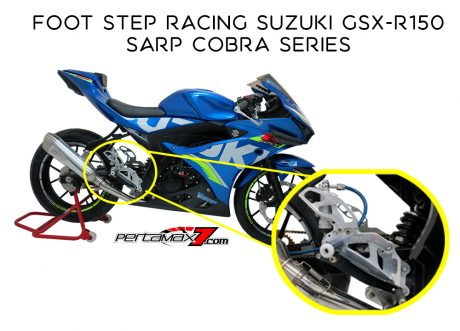 Foot Step Racing Suzuki GSX-R150 Sarp Cobra Series
