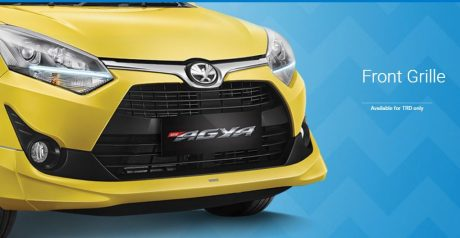Front Grille All New Toyota Agya 2017 TRD
