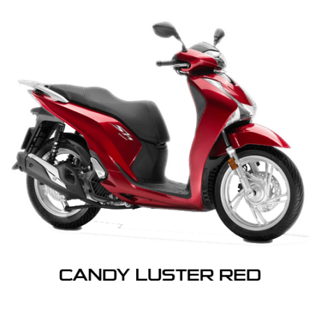 Honda SH150i Warna Merah Candy Luster Red Indonesia