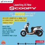 Launching All New Honda Scoopy Jogja