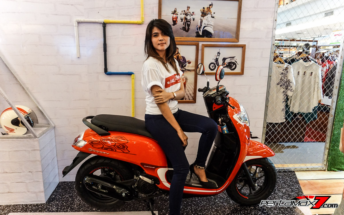 Launching All New Honda Scoopy eSP Jawa tengah