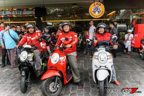 Testride Honda All New Scoopy eSP 110 Velg 12 Inchi versi 2017