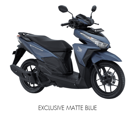 New Honda Vario 150 Warna Biru Doff Exclusive Matte Blue Versi 2017