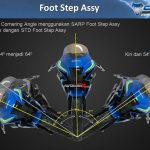 Perbandingan Footstep racing VS STD Suzuki GSX-R150