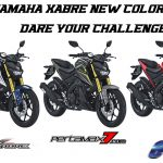 Warna Baru Yamaha Xabre 150 Model Year 2017