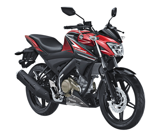 Yamaha All New Vixion 2017 Warna merah hitam red Black