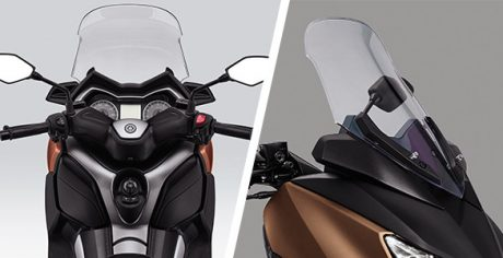 Adjustable Windshield and handle Bar Yamaha XMAX 250