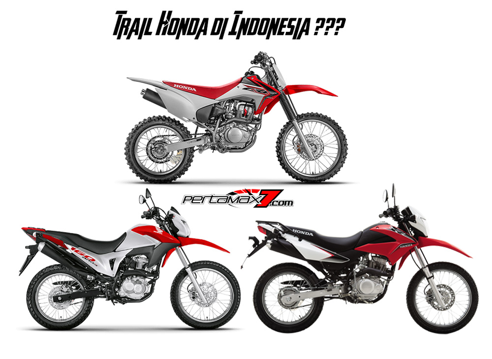 Bakal Calon Motor Trail Honda di Indonesia