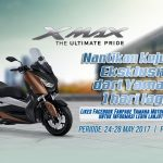 Indent Online Yamaha XMAX 250 24-28 Mei 2017