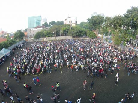 Touring #MAXIYAMAHADAY start di Surabaya (1)