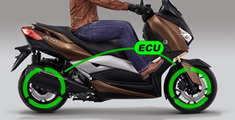 Traction Control System Yamaha XMAX 250