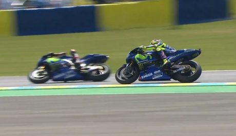 Vinales VS Rossi MotoGP France 2017