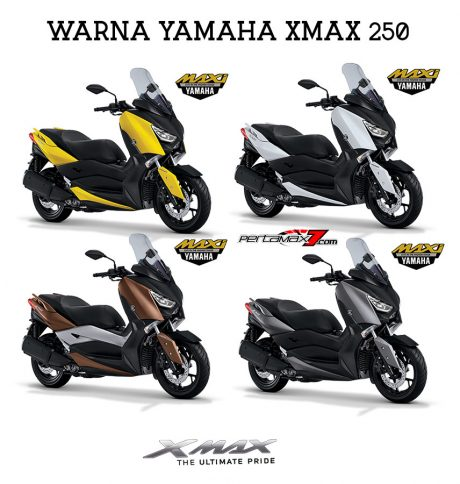 Warna Yamaha XMAX 250 Indonesia