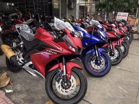 Yamaha All New R15 sampai di Vietnam