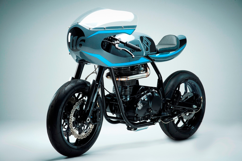 Custom Royal Enfield India Surf Racer p7