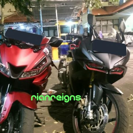 Depan Honda CBR250RR VS Yamaha All new R15