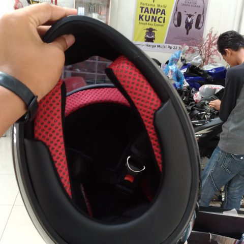 Padding helm Standar Yamaha All New Vixion dan All New R15 versi 2017