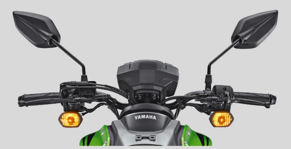Lampu hazard Yamaha All new X-Ride 125