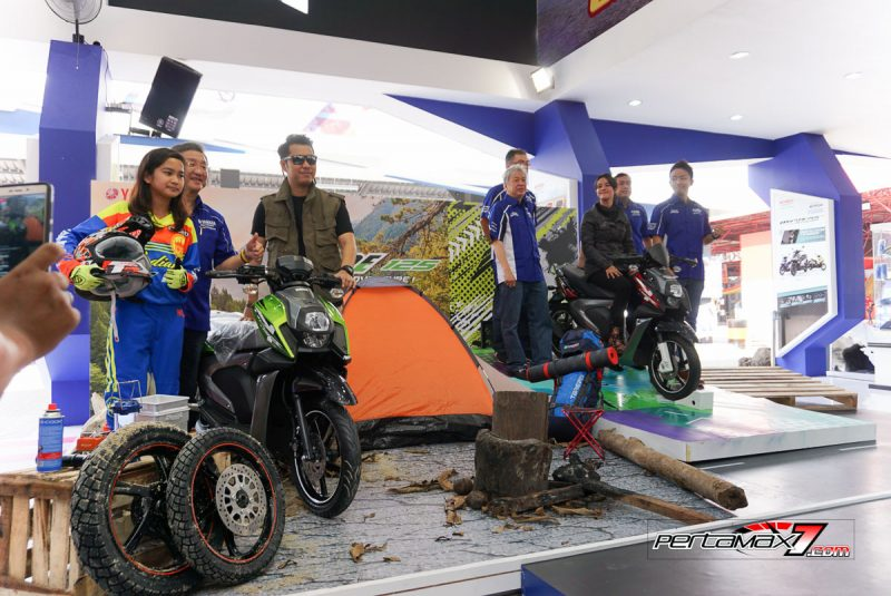 Launching Yamaha All New X-Ride 125 Jakarta Fair 2017 10