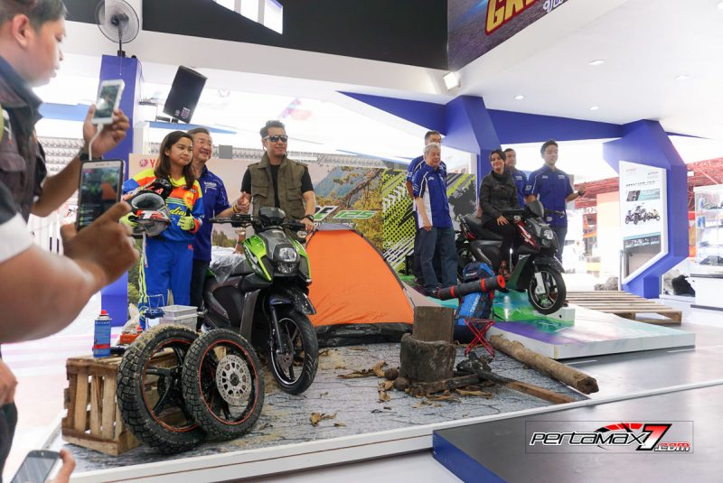 Launching Yamaha All New X-Ride 125 Jakarta Fair 2017 11