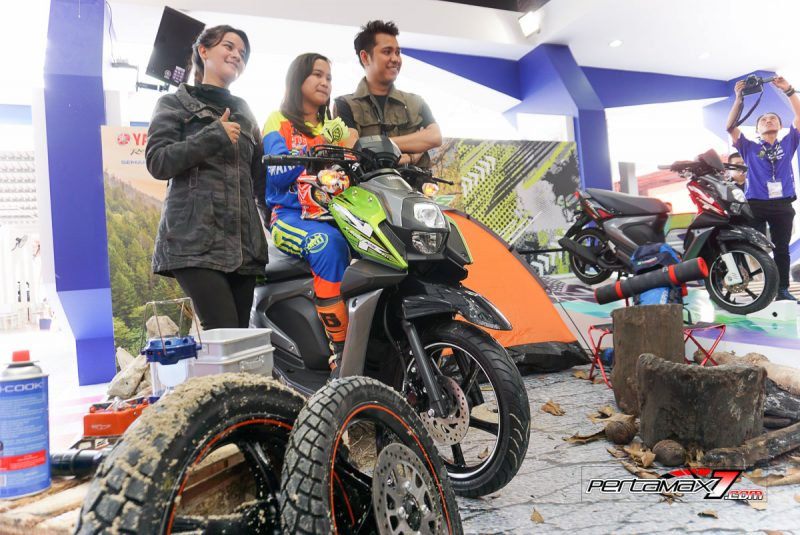 Launching Yamaha All New X-Ride 125 Jakarta Fair 2017 3